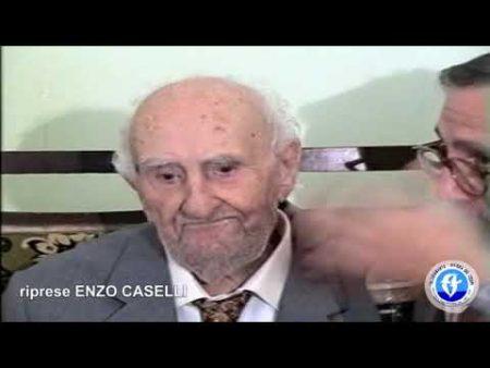 13 settembre 1995-Intervista all'ex Sindaco di Diamante Don Andrea Bruno per i suoi 100 anni