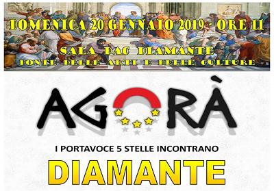 Movimento 5 stelle, domenica a Diamante l'Agorà con i deputati Scutellà e Forciniti
