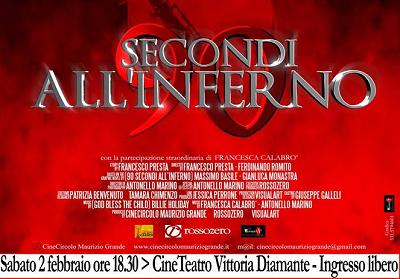 """Diamante: Presentazione di """"90 secondi all'inferno"""", il nuovo cortometraggio del Cinecircolo Maurizio Grande"""