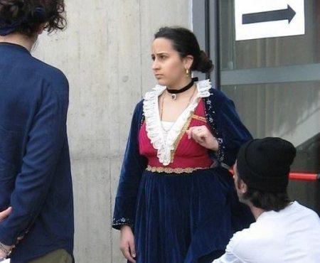 La giovane attrice calabrese Denise Sapia nel qualificato cast del film Arbëria