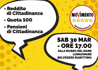 Belvedere M.mo: Incontro con i parlamentari M5S e il Meetup cittadino presenta il candidato a Sindaco