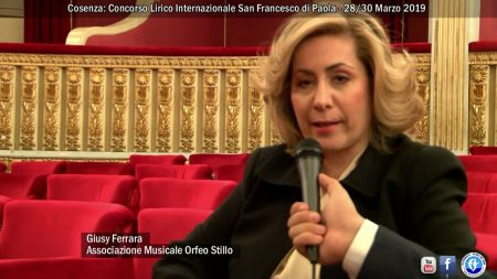 Cosenza: Concorso Lirico Internazionale San Francesco di Paola – 28/30 Marzo 2019-servizio
