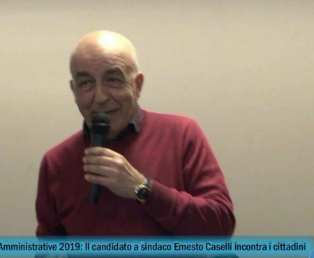 Diamante, Ammistrative 2019: Il candidato a Sindaco Ernesto Caselli incontra i cittadini