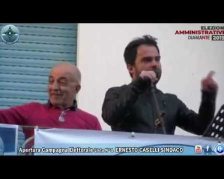 Diamante: Apertura Campagna Elettorale Lista N°1 Ernesto Caselli Sindaco