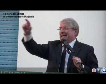 Comizio del senatore Ernesto Magorno a Diamante