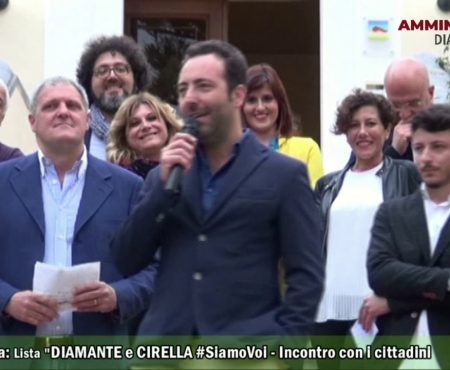 Elezioni a Diamante: La Lista Diamante e Cirella #SiamoVoi incontra i cittadini a Cirella