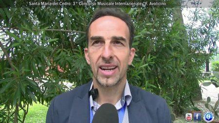 """Santa Maria del Cedro: Concoso Musicale Internazionale """"Francesco Avolicino""""-servizio"""