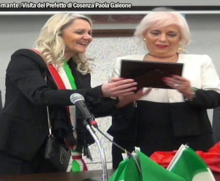 Diamante: Visita del Prefetto di Cosenza Dott.ssa Paola Galeone