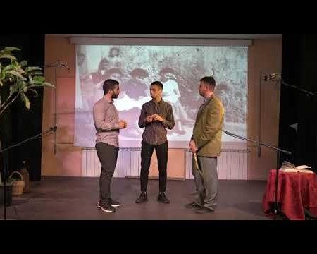 """""""Fare Teatro""""- dal progetto: Scuola a rischio – I.I.S.S. di Diamante"""