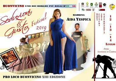 Buonvicino: Aida Yespica ospite di Seduzioni & Gusto Festival