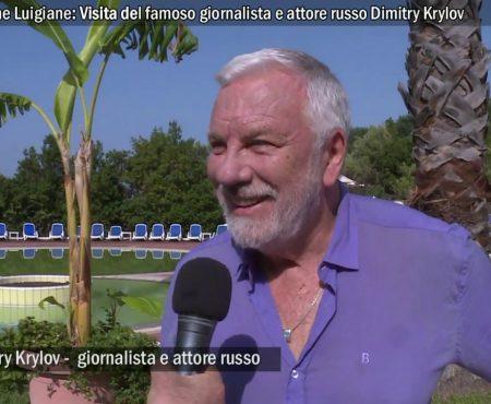 Terme Luigiane: Visita di Dimitry Krylov, attore e gionalista russo