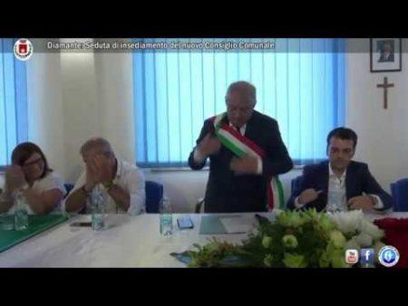 Diamante: Seduta di insediamento del nuovo Consiglio Comunale