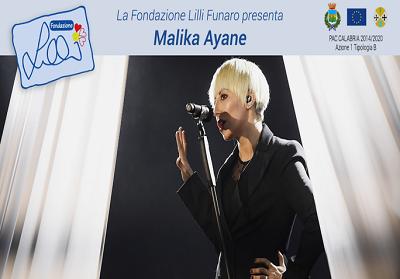 MALIKA AYANE concerto per Lilli-18 agosto 2019, Teatro dei Ruderi di Cirella (Cs)