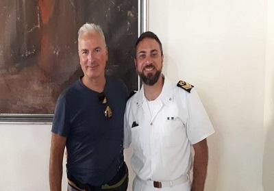 Diamante: Il Sergente Ivan Ruis tra i protagonisti del salvataggio nel mare di Paola