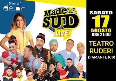 MADE IN SUD LIVE-17 Agosto 2019 – Teatro dei Ruderi di Cirella (Cs)
