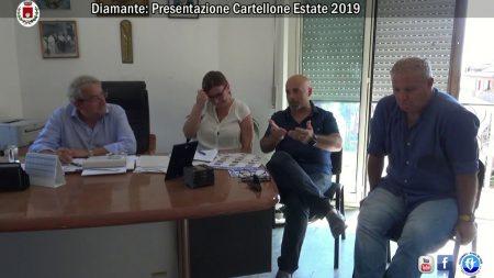 Diamante: Presentazione programma degli eventi Estate 2019