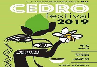 Santa Maria del Cedro: Dal 17 al 20 agosto Cedro Festival, protagonista l'oro verde della Calabria