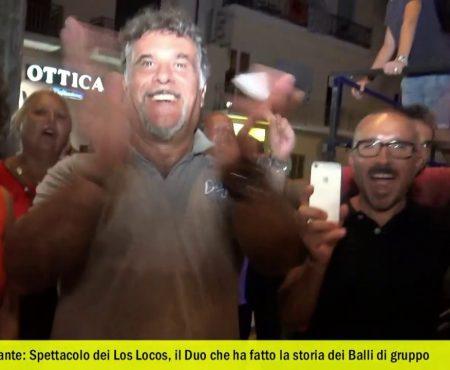 Diamante: Spettacolo dei Los Locos – intervista/Medley dei successi