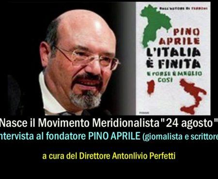 """Intervista a Pino Aprile fondatore del Movimento Meridionalista """"24 Agosto"""""""