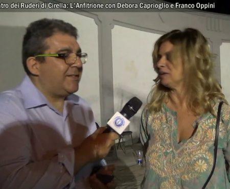 Teatro dei Ruderi Cirella: L'Anfitrione – Video interviste