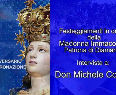 Diamante: Festa della Madonna Immacolata – Don Michele Coppa