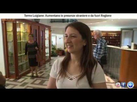 Terme Luigiane: Aumentano le presenze straniere e da fuori Regione-interviste