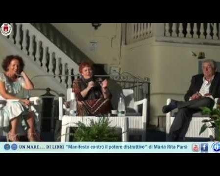 """Diamante: Presentazione Libro """"Manifesto contro il potere distruttivo"""" di Maria Rita Parsi"""