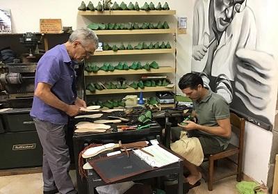 Diamante: La Bottega di Barbato al MICAM, il salone internazionale del settore calzaturiero