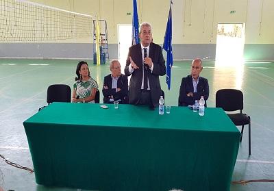 IISS Diamante: Il Presidente della Provincia di Cosenza, Franco Iacucci ha inaugurato il nuovo anno scolastico