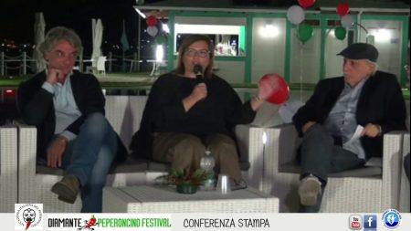 Diamante: Conferenza stampa di apertura del 27° Peperoncino Festival