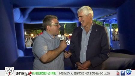 Peperoncino Festival: Interviste al Senatore Pier Ferdinando Casini e al Sindaco di Diamante Sen. Ernesto Magorno