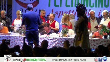 27° Peperoncino Festival di Diamante: Finale gara dei Mangiatori di Peperoncino