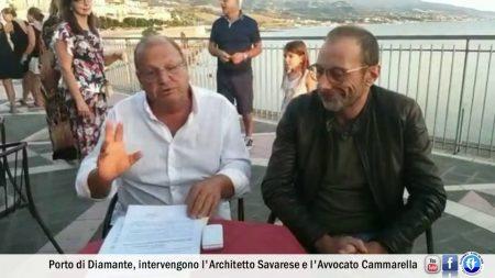 Porto di Diamante: Intervista all'architetto Savarese e all'avvocato Cammarella