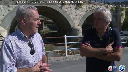 Terme Luigiane: Complesso Vulcanico Diamante-Enotrio-Ovisio- intervista al Dott. Riccardo De Ritis