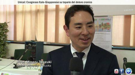 UNICAL: Congresso Italo-Giapponese su terapie del dolore cronico-interviste