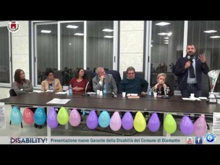 Presentazione del nuovo Garante della Disabiltà del Comune di Diamante