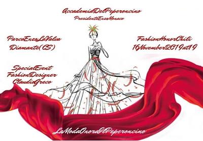 Diamante: Il peperoncino calabrese è il protagonista della prima edizione del Fashion Honor Chili