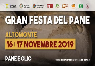 La Gran festa del Pane di Altomonte, due giorni dedicati alla tradizione