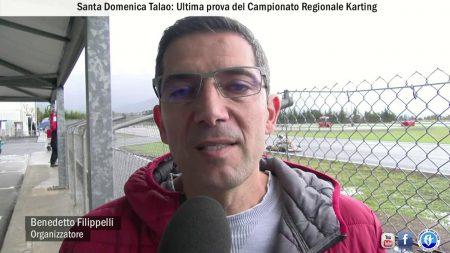 Santa Domenica Talao: Ultima prova del Campionato Regionale Karting ed inaugurazione nuova Pista Sunday Club Talao-servizio