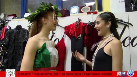 Diamante: Fashion Honor Chili-La Moda onora il Peperoncino-servizio