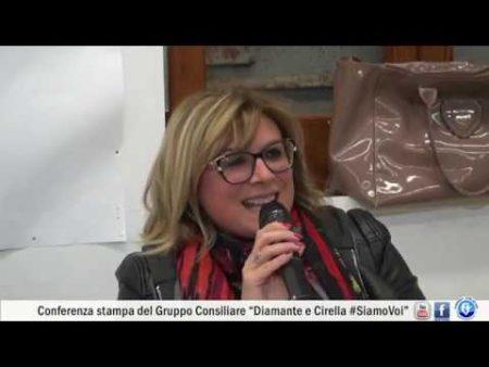 """Conferenza stampa Gruppo Consiliare """"Diamante e Cirella #SiamoVoi"""""""