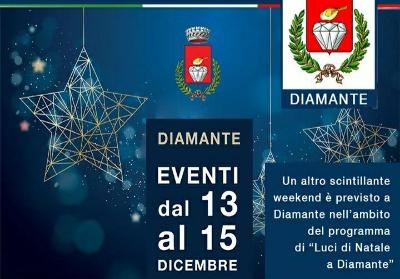 Natale a Diamante, arriva un altro weekend ricco di eventi