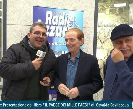 Intervista al giornalista e conduttore televisivo Osvaldo Bevilacqua ospite a Diamante