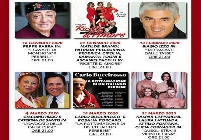 Diamante: Peppe Barra dà inizio alla Stagione Teatrale del Cine Teatro Vittoria