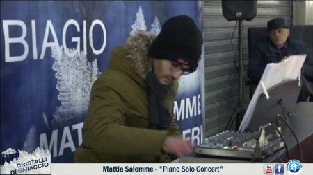 """Diamante: Cristalli di ghiaccio – Mattia Salemme """"Piano Solo Concert"""""""