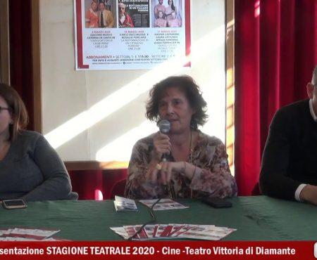 Diamante: Presentazione Stagione Teatrale al Cine Teatro Vittoria