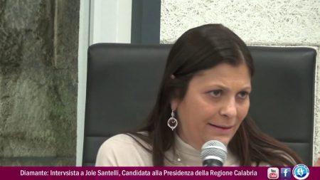 Diamante: Intervista a Jole Santelli, Candidata alla Presidenza della Regione Calabria