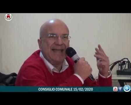 Diamante: Consiglio comunale del 15/02/2020
