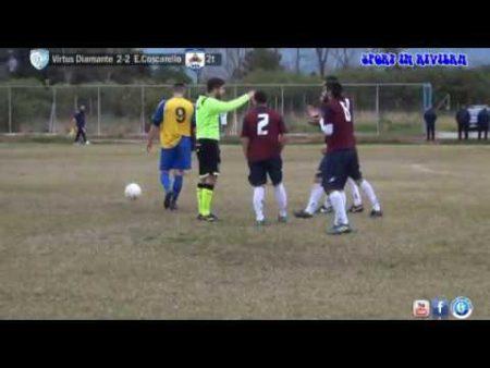 Calcio: Virtus Diamante – Eugenio Coscarello 2-2 sintesi