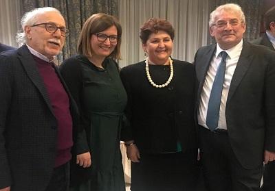 Diamante e Peperoncino protagonisti in un importante convegno a Roma con la Ministra Bellanova